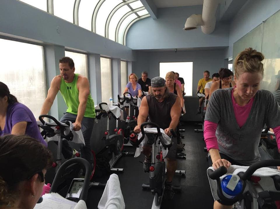 Spinning Class at Edge Fitness Club Oxnard